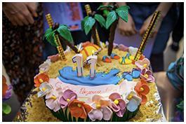 Тематический торт на день рождения