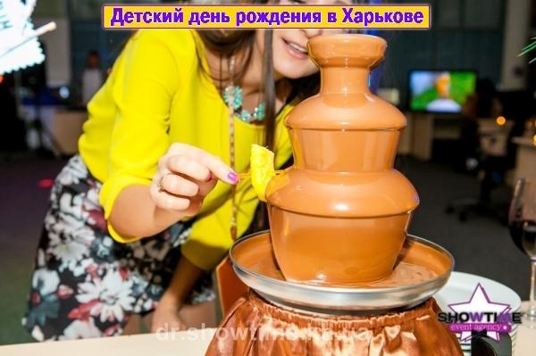 Шоколадный фонтан (3)