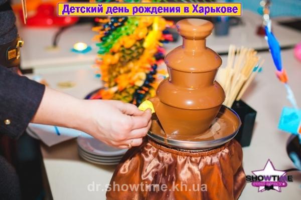 Шоколадный фонтан (6)